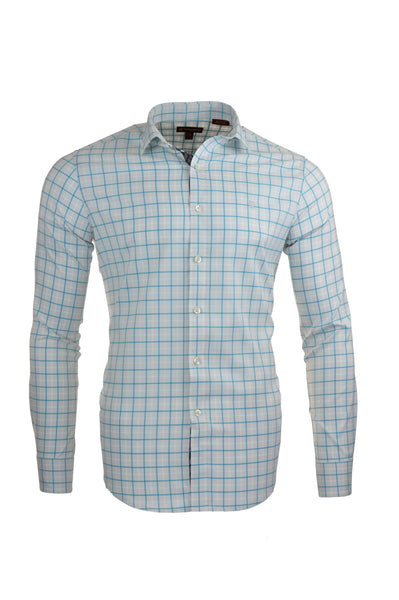 Northern Frost Stretch Plaid