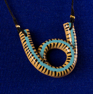 Stripe Loop Kette