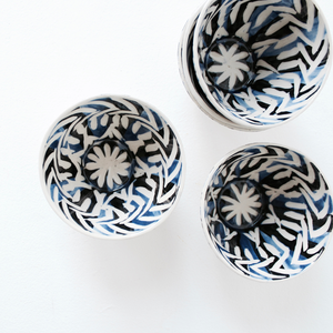 Dancing Blues Bowls