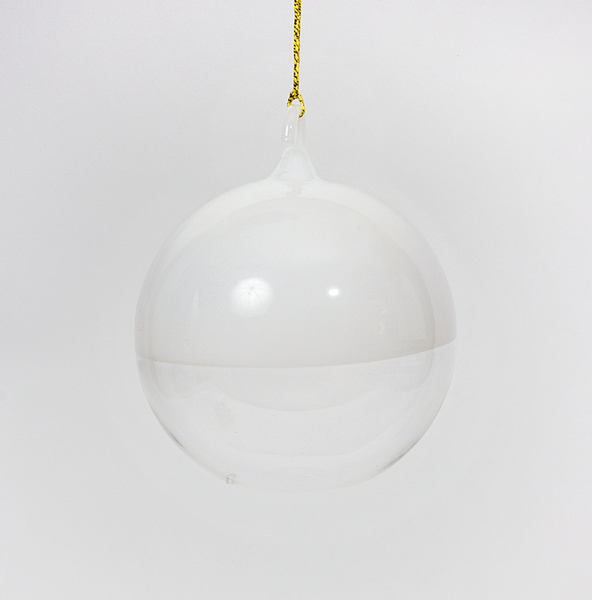 Glass Ball ~ White