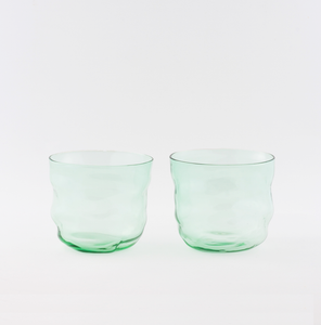 Poseidon Light Green Wasserglas ~ 2er-Set
