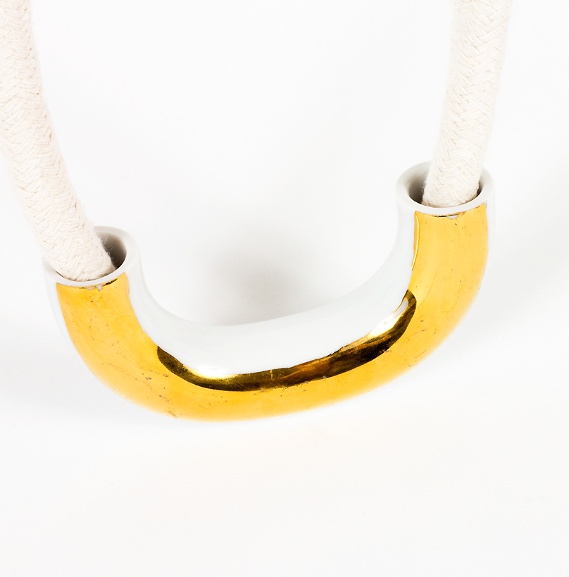 Semicircle Chain ~ Gold