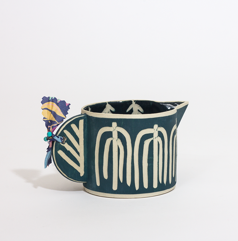 Tropicalia Milk Jug