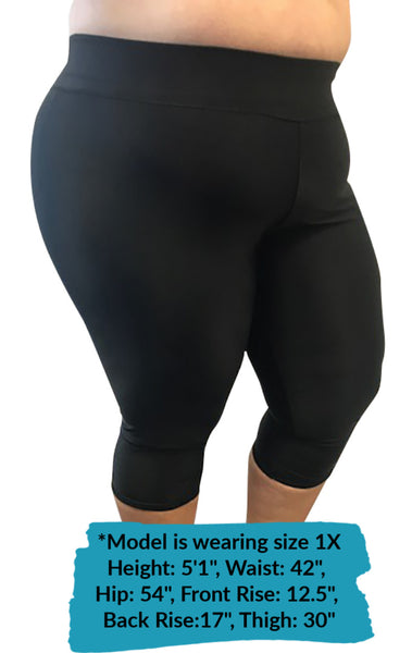 NEW! Short Compression Capri By Wear Ease®