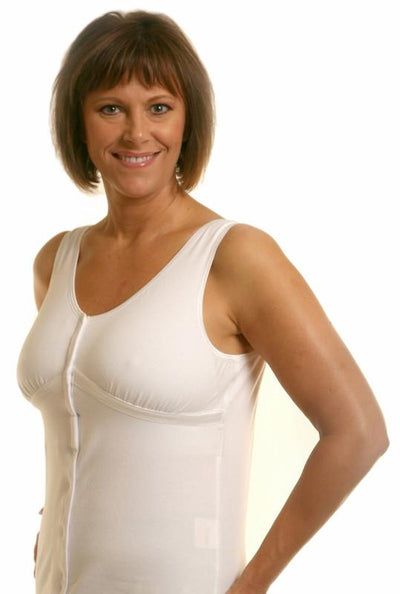 New Dawn Post-Surgical Camisole by Wear Ease® -Velcro Front Closure