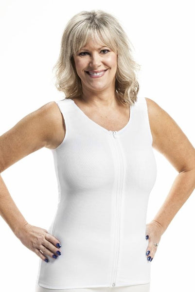 Torso Compression Vest for Relief From Swelling from Edema and Lymphedema