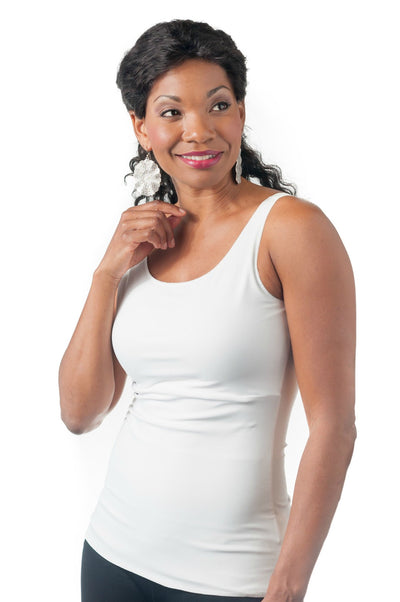 Slimmer by Wear Ease® (a long version of Compression Camisole)