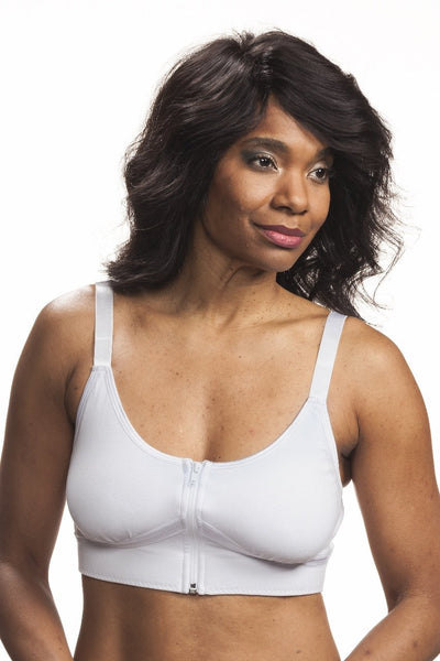 Allyson Post-Surgical Bra by Wear Ease® - Feel the luxurious softness
