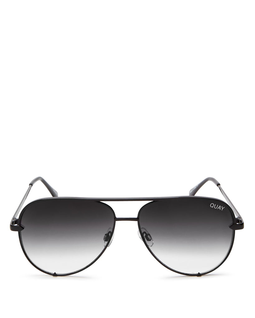 Quay Australia High Key Mini Sunglasses - Black