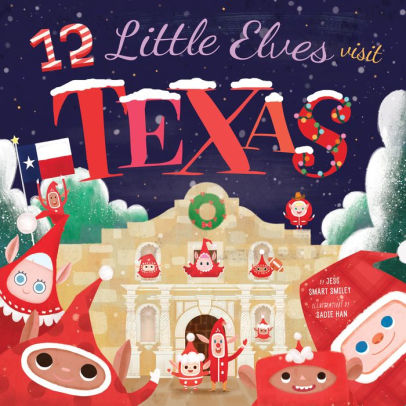 12 Little Elves Visit Texas