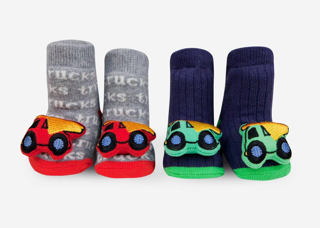 Waddle Rattle Socks-Trucks