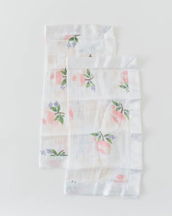Little Unicorn Deluxe Muslin Swaddle Blanket - Watercolor Rose
