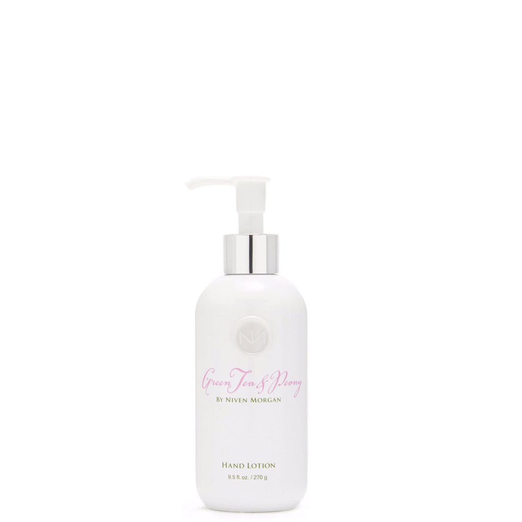 Niven Morgan Green Tea & Peony Hand Lotion