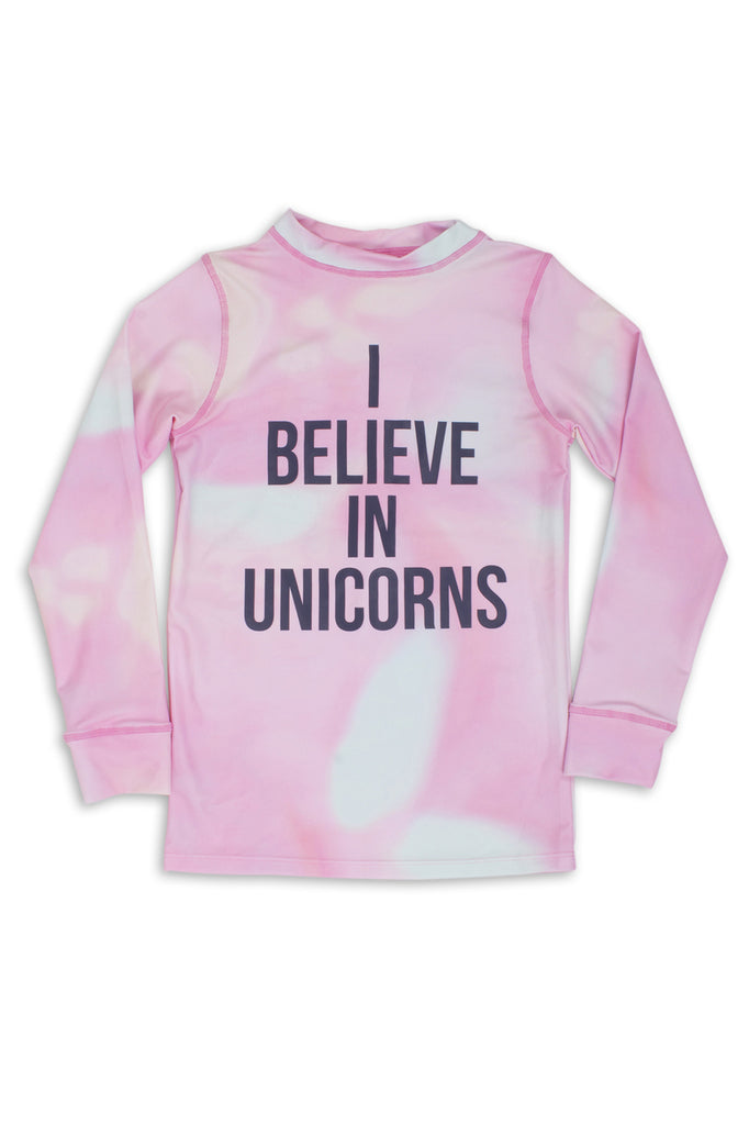 Shade Critters I Believe in Unicorns Rash Guard