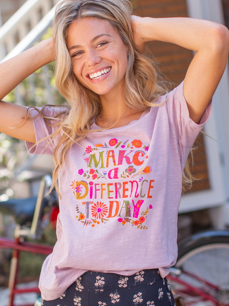 Make A Difference Today Tee
