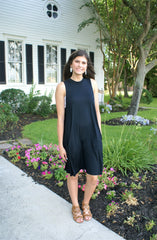 Alyssa Swing Dress in Black