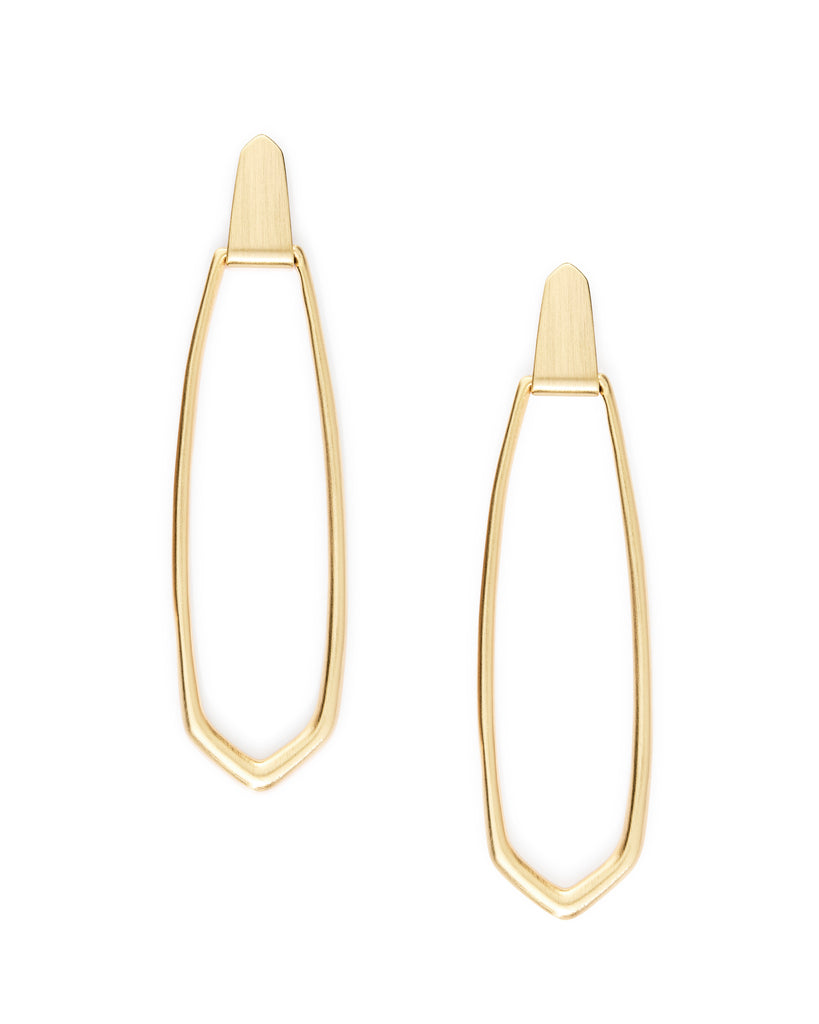 Kendra Scott Patterson Hoop Earrings - Available in 3 colors