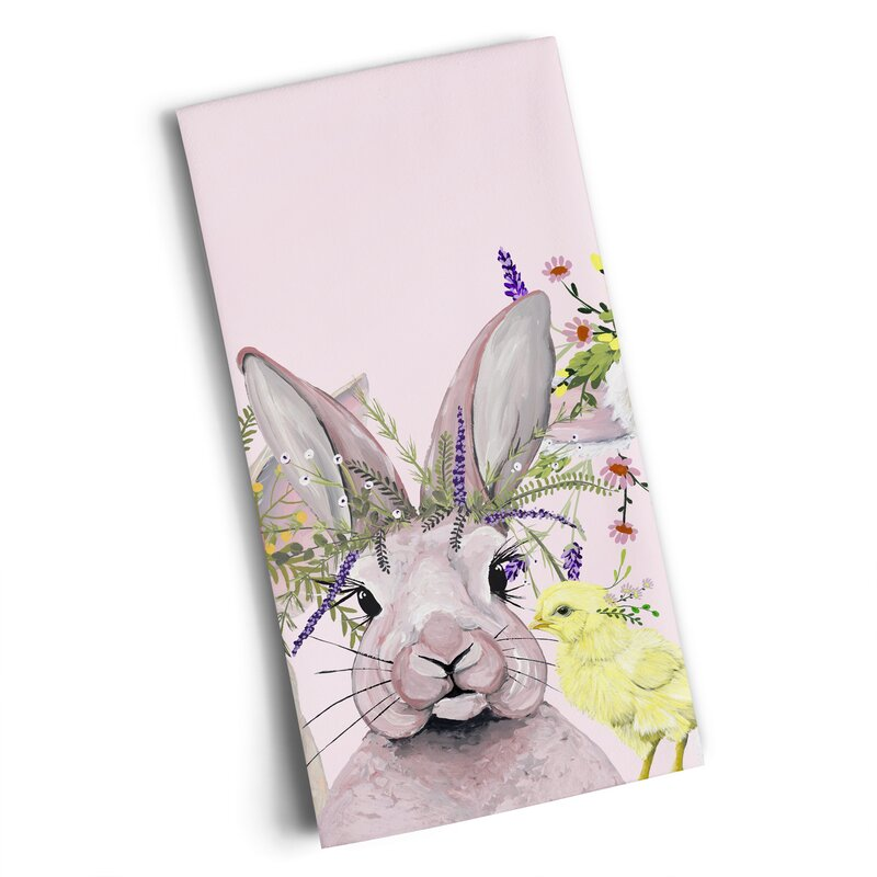 Greenbox Art Flora & Fauna On The Farm Tea Towel