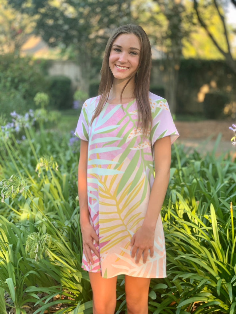 Mink Pink Palm Springs Tee Dress