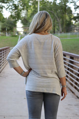 Kerisma Manuela Top, Heather Grey