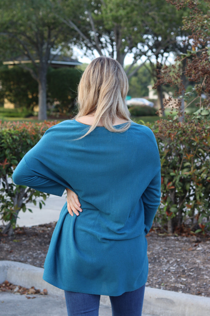 Kerisma Raven Top in New Teal