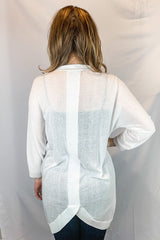Canyon Cardi in White