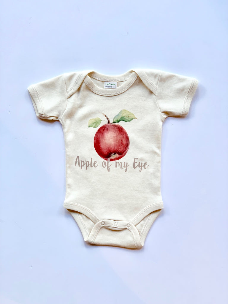 Urban Baby Co Apple Of My Eye Onesie