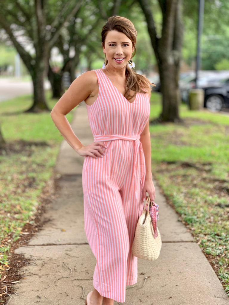 Mink Pink Check Jumpsuit