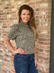 The Deena Cheetah Top