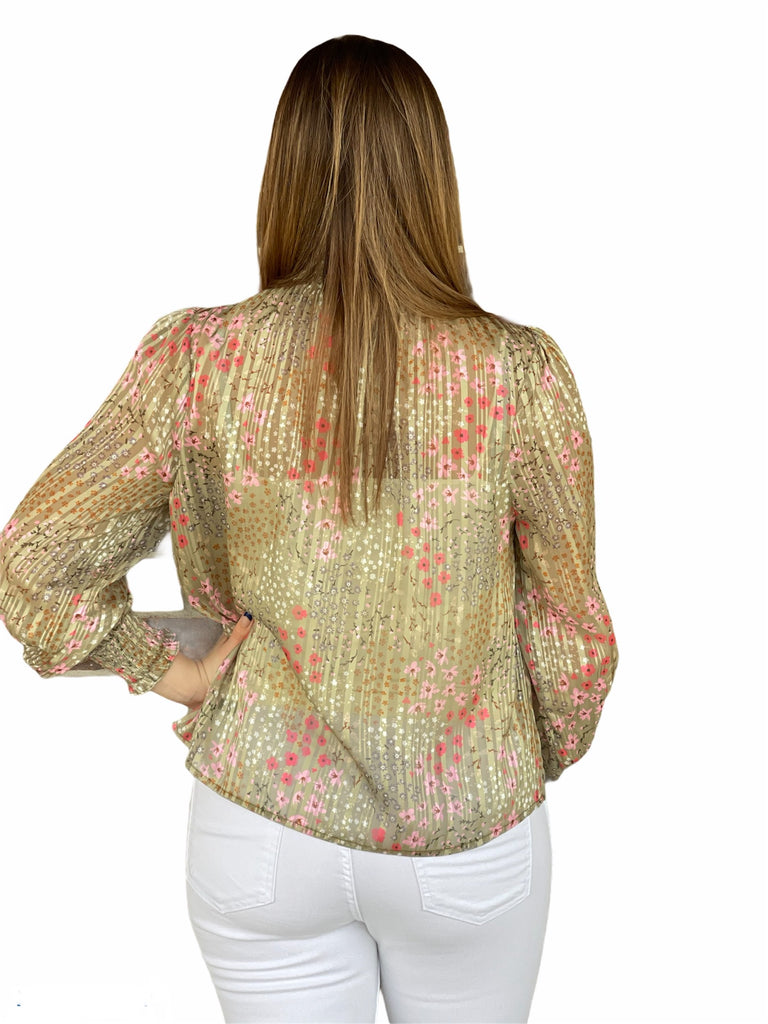 Mink Pink Monet Blouse