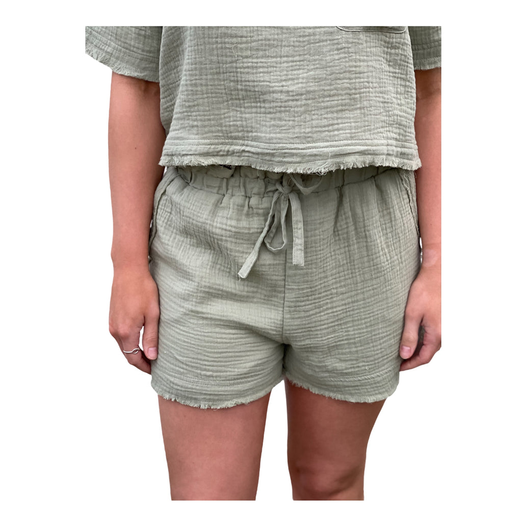 The Julia Shorts in Sage