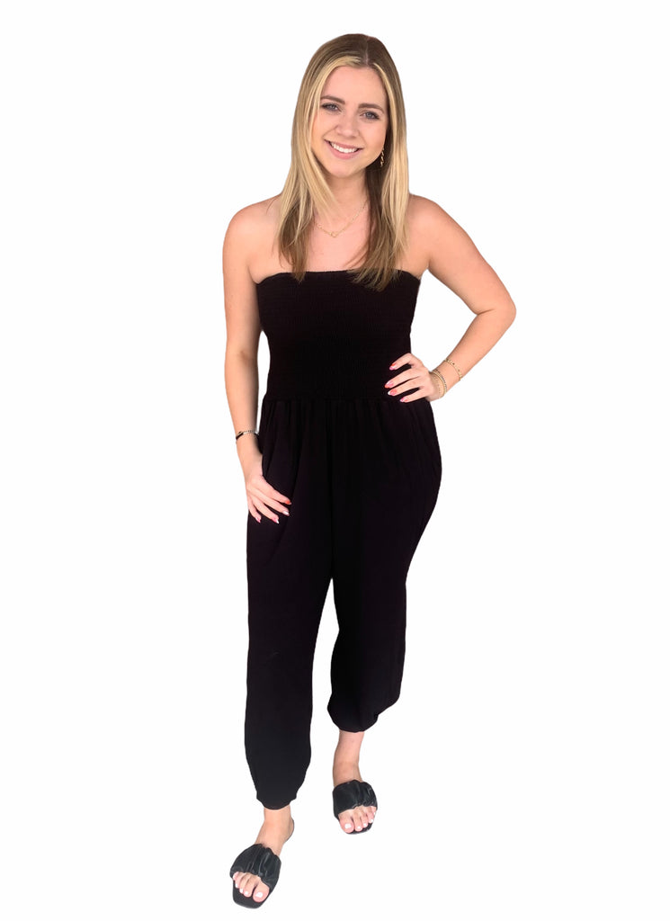 The Quinn Jumpsuit- Black