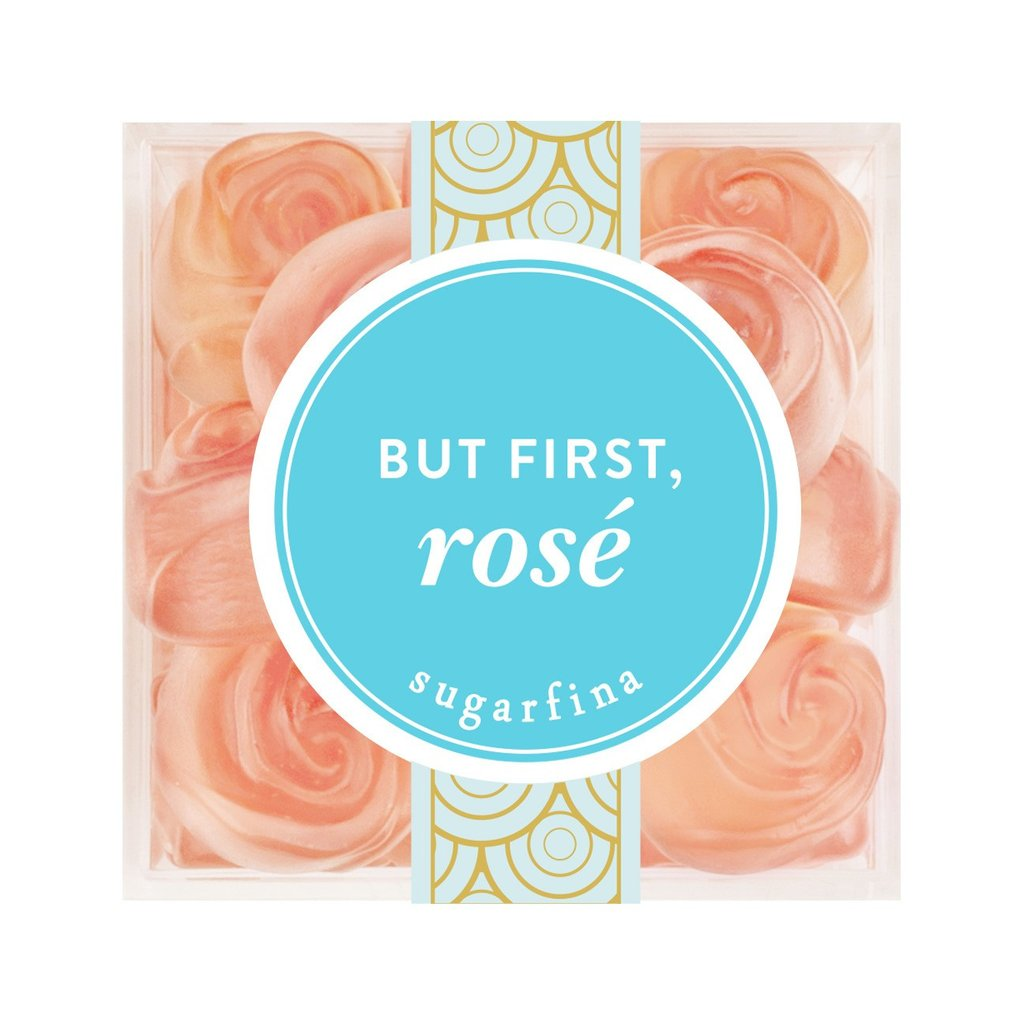 Sugarfina But First, Rose Small Cube