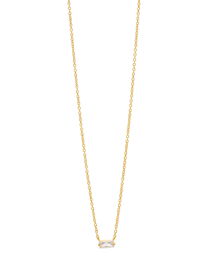 Gorjana Amara Solitaire Necklace