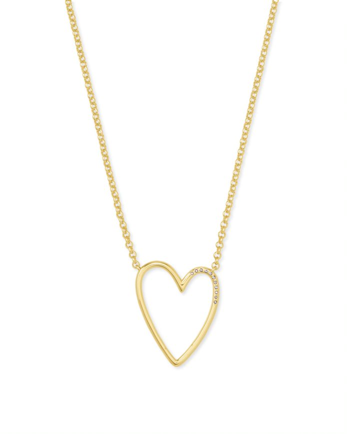 Kendra Scott Ansley Pendant in Gold