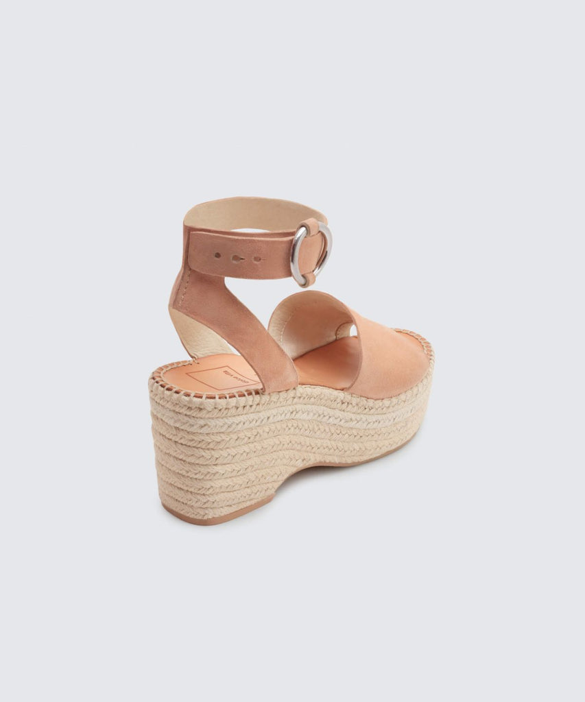 08593a5b20e Dolce Vita Lesly Wedges in Rose Suede – Adelaide s Boutique