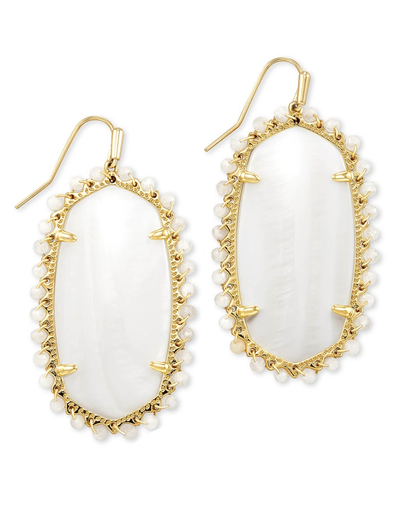 Kendra Scott Beaded Danielle Earring - Available in 4 Colors