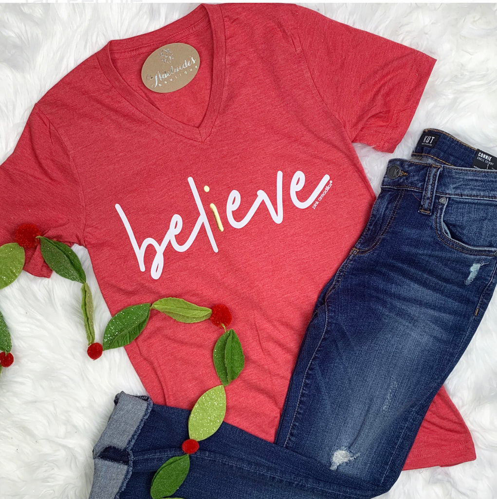 I Believe Holiday Tee