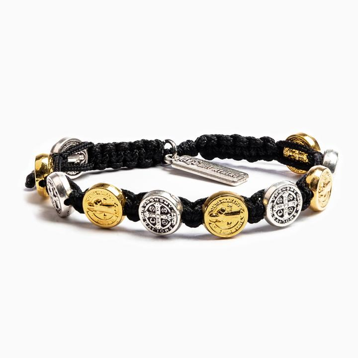 My Saint My Hero Blessing Bracelet-Mixed/Black