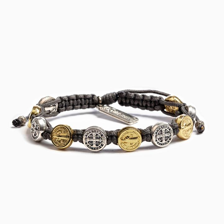 My Saint My Hero Blessing Bracelet-Mixed/Slate