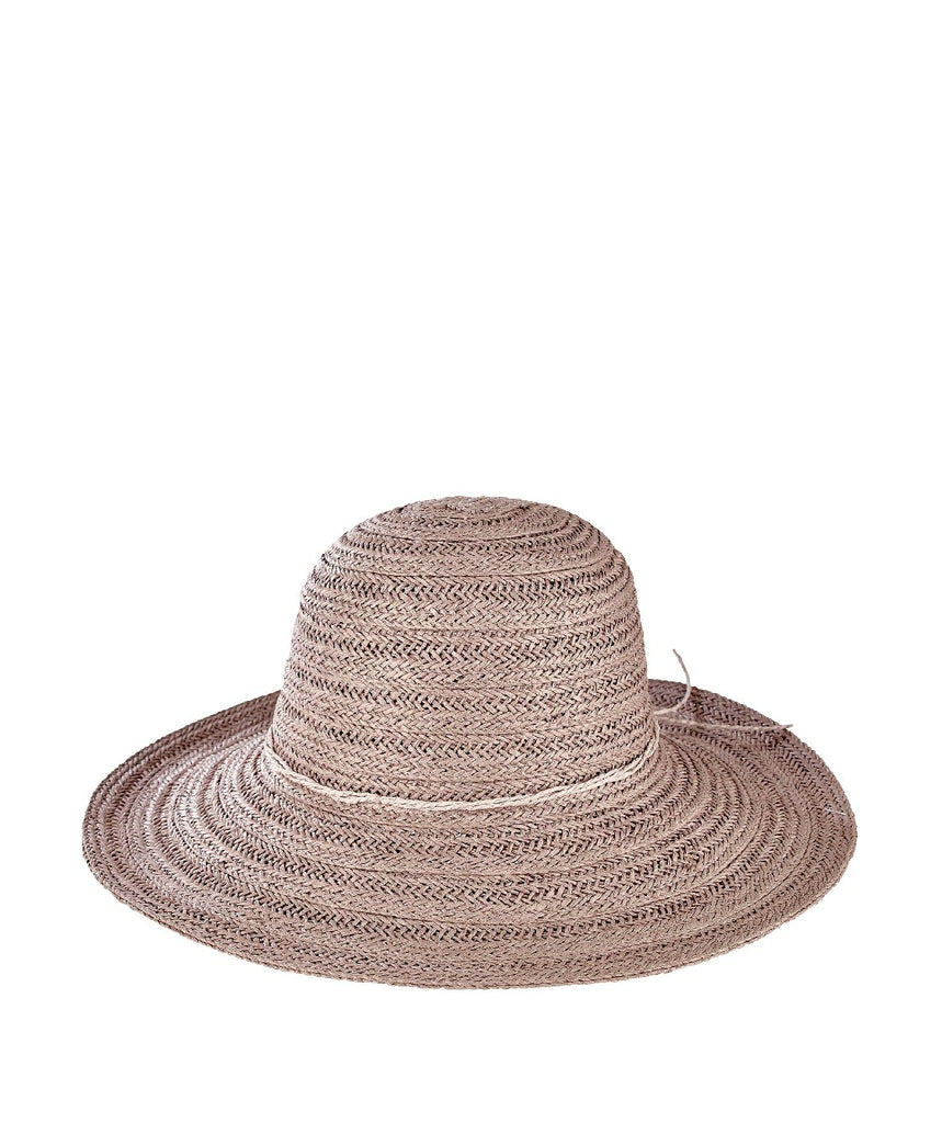 San Diego Hat Company Paperbraid Crown Floppy Hat