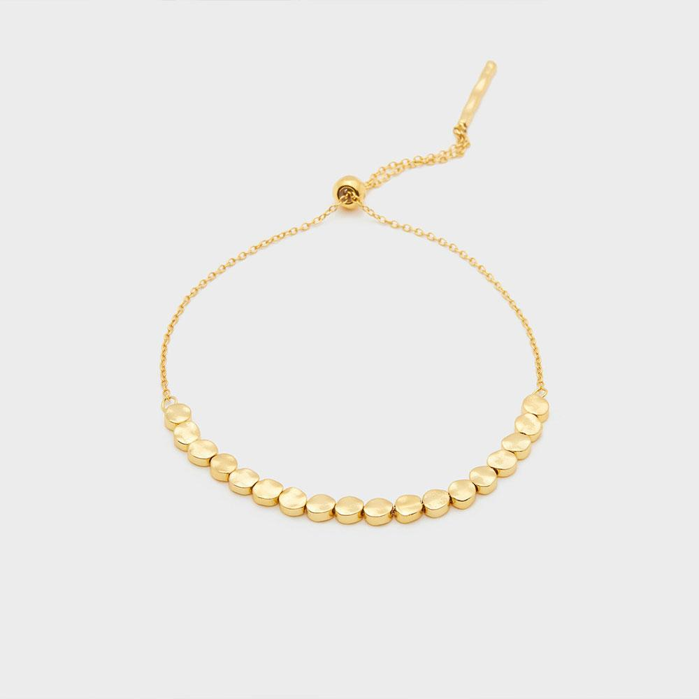 Gorjana Chloe Small Adjustable Bracelet in Gold