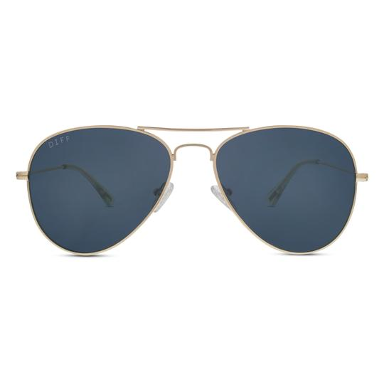 Diff Eyewear Cruz Sunglasses- Gold/Grey