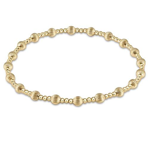 Enewton Dignity Sincerity 4mm Bead Bracelet in Gold