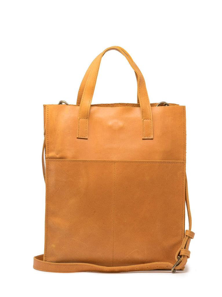 ABLE Elsabet Small Tote in Cognac