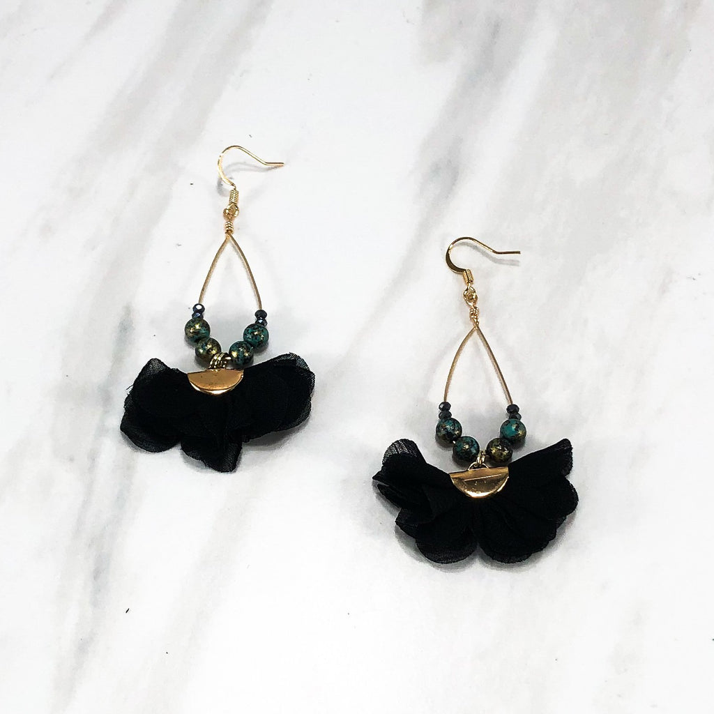 Emilia Flutter Earrings by Hattie Now - Available in