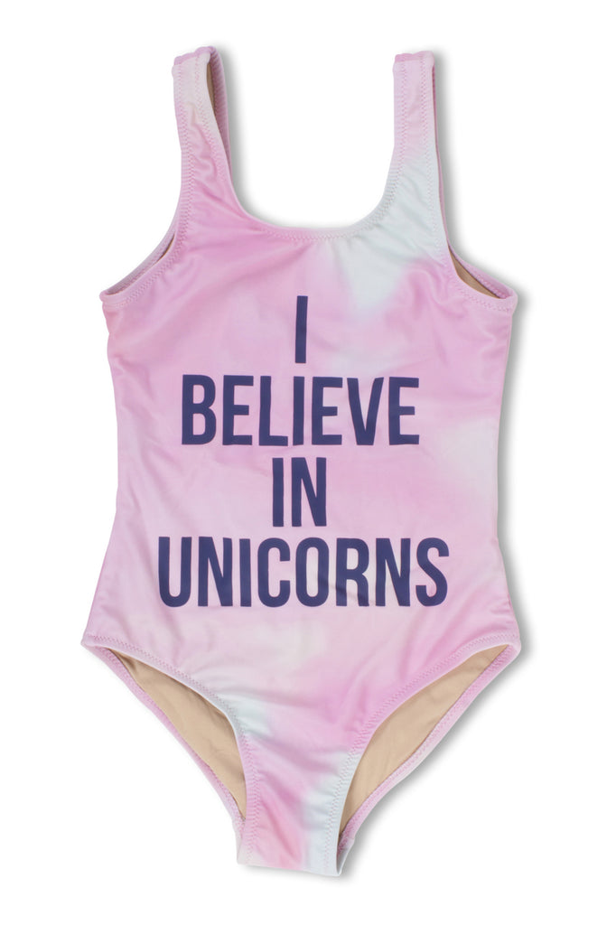 Shade Critters I Believe in Unicorns Scoop Swimsuit