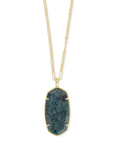 Kendra Scott Faceted Reid Long Necklace -Available in 3 colors