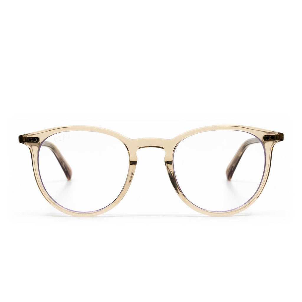 DIFF Eyewear Blue Light - Haze Vintage Crystal