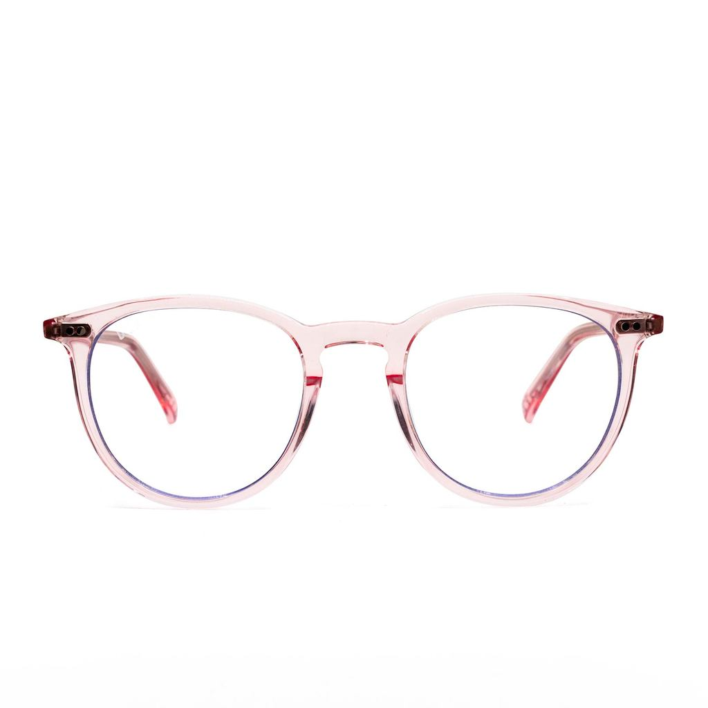 DIFF Eyewear Blue Light - Haze Rose Crystal